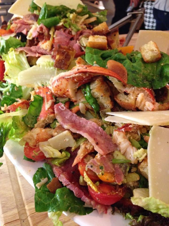 Salade Surf'n Turf