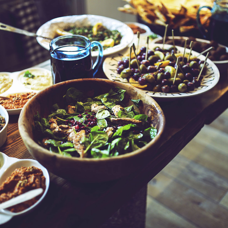 Repas traditionnel (choix multiple)
